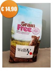 Welby graanvrij kattenvoer met smaakgarantie