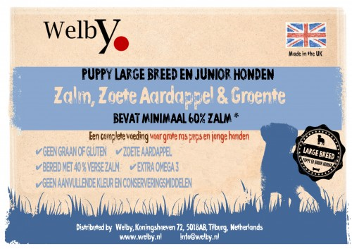 Welby graanvrij junior en large breed