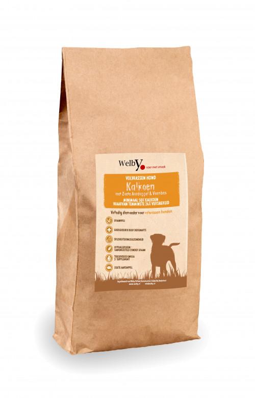 Welby Kalkoen hondenvoer graanvrij
