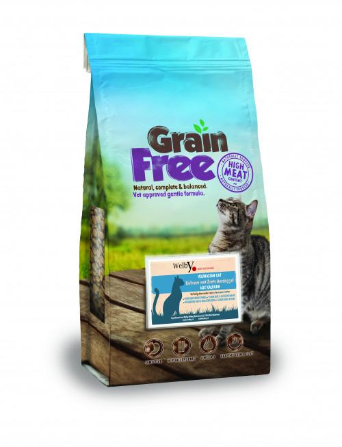 Welby kattenvoer Kalkoen graanvrij