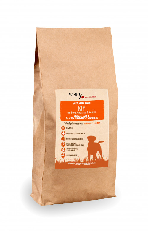 Welby Kip hondenvoer graanvrij