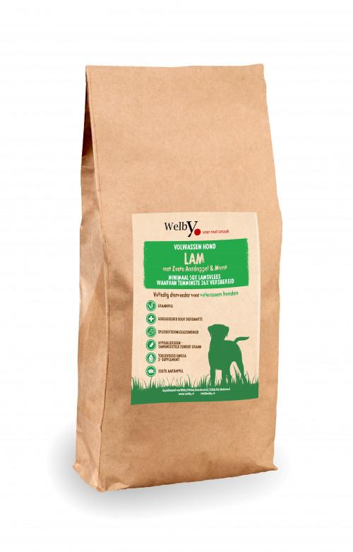 Welby lam hondenvoer graanvrij