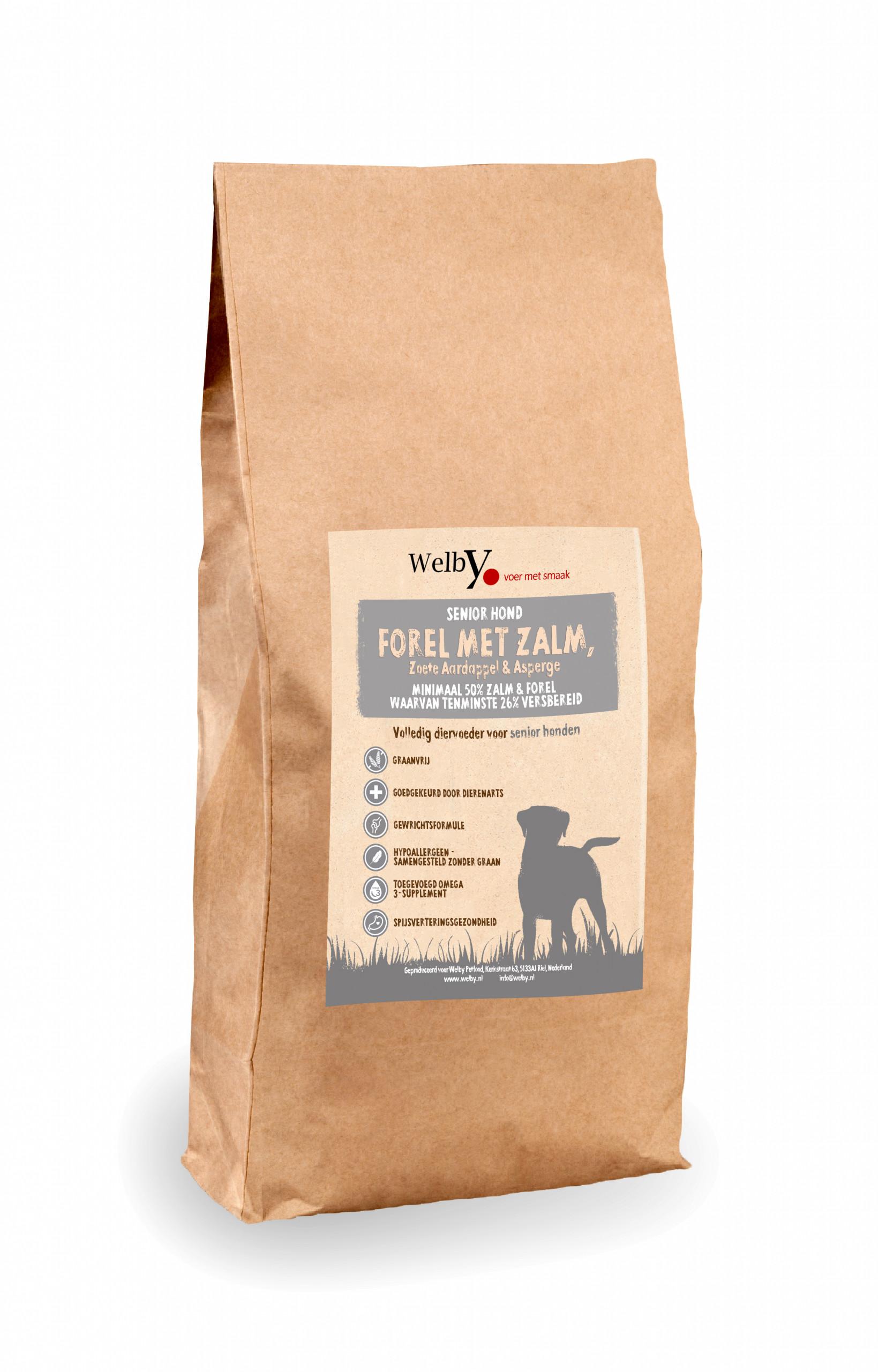 Welby Senior Hondenvoer graanvrij