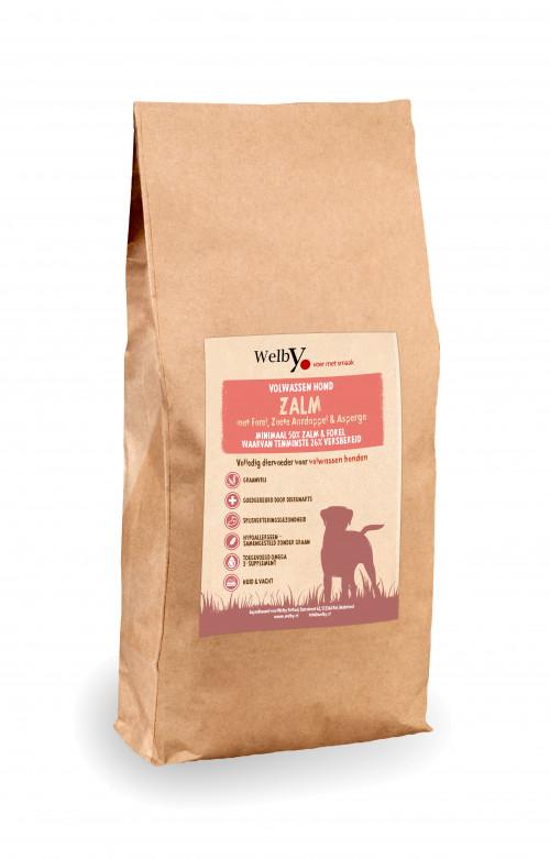Welby Zalm hondenvoer graanvrij